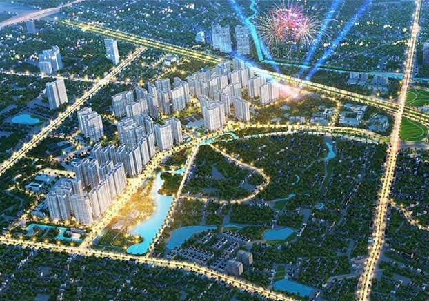 Dự án Imperia Smart City nằm trong khuôn viên khu đô thị Vinhome Smart City